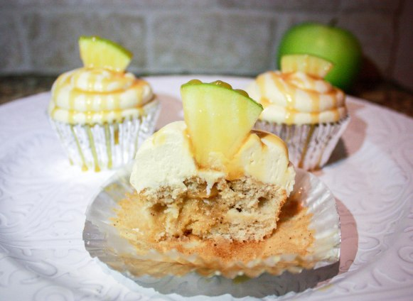 Caramel Apple Cupcakes-8