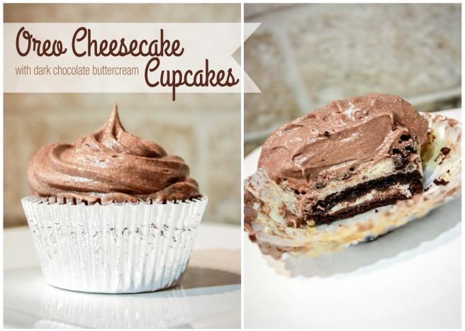 Oreo Cheesecake Cupcakes-1