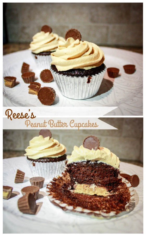 Reese's Peanut Butter Cupcakes-2
