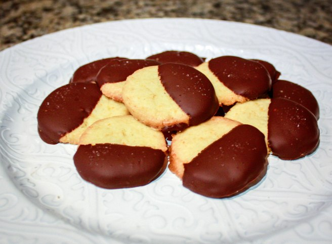 Dark Chocolate Orange Sables-2093