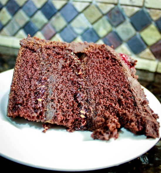 Chocolate Raspberry Ganache Cake-1921