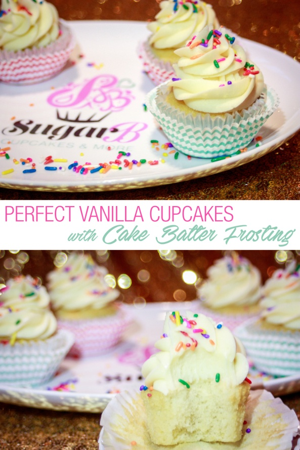 Vanilla Cupcakes with Cake Batter Frosting-1-01