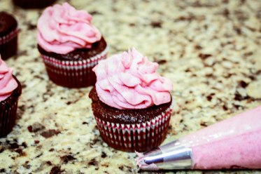 Chocolate Raspberry Cupcakes-2726