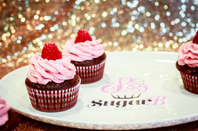 Chocolate Raspberry Cupcakes-2741