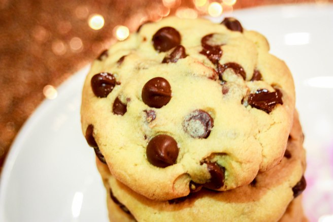 Salted Caramel Dark Chocolate Chip Cookies-2973